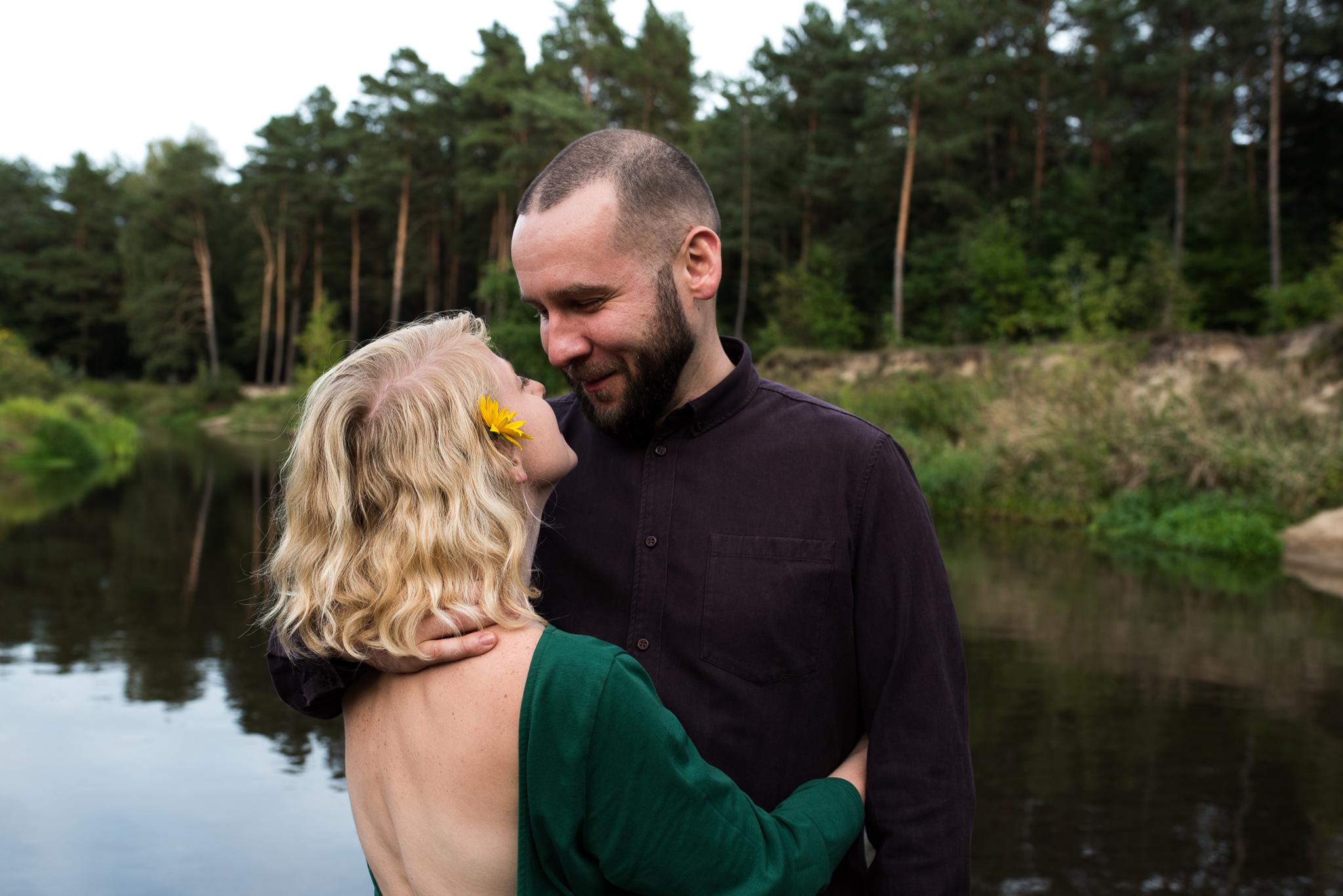 sesja poślubna rzeka-15